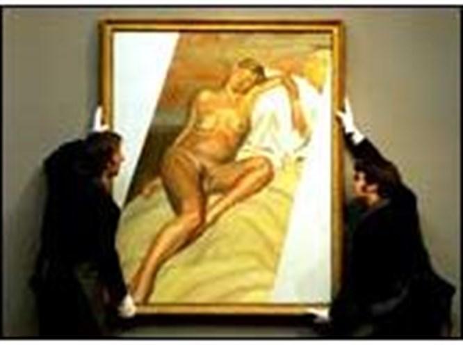 Kate Moss'un tablosuna 4 milyon sterlin